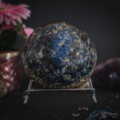 Sodalite - orgonite Hemisphere