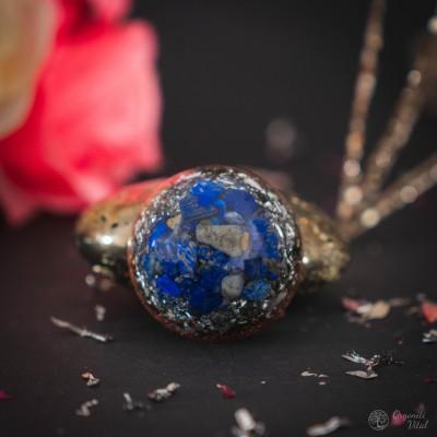 Lapis lazuli - orgonit polobla