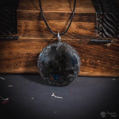Črni obsidian - orgonitni...