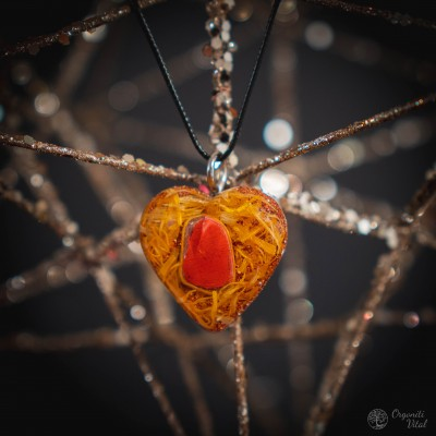 Red jasper - orgonite...