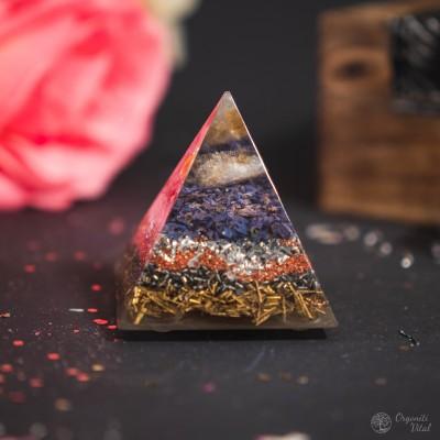Citrin - Orgonite Pyramid