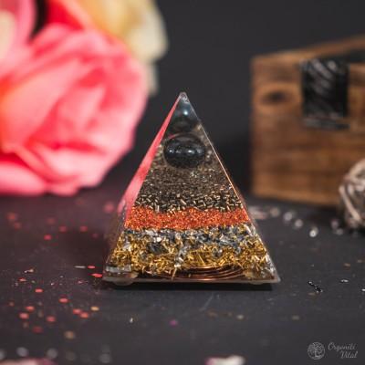 Hematite - Orgonite Pyramid