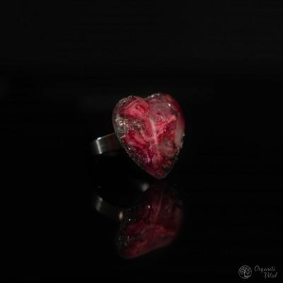 Roževec - orgonitni prstan...