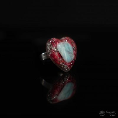 Larimar- orgonitni prstan...