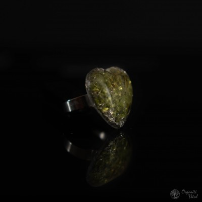 Peridot  - orgonitni prstan...