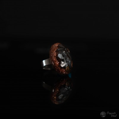 Hematit - orgonitni prstan...