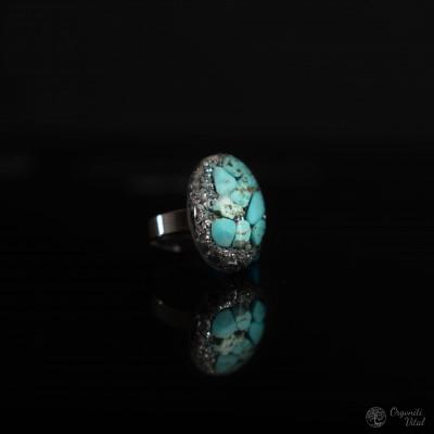 Turkiz - orgonitni prstan...