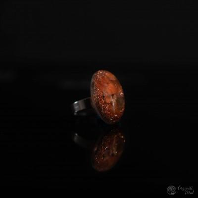 Karneol - orgonit prstan...