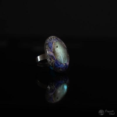 Labradorite - Orgonite oval...
