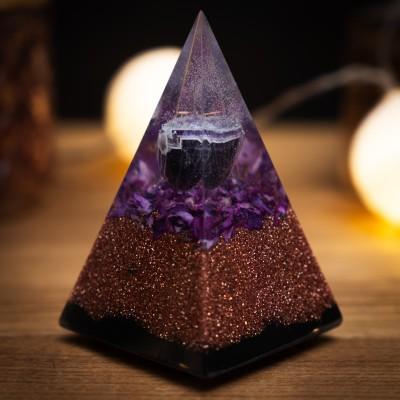 Ametist – Orgonitna Piramida