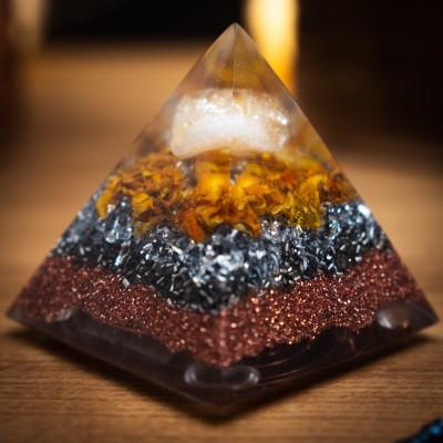 Citrin – Orgonitna Piramida