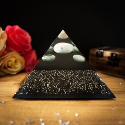 Turquoise - Orgonite Pyramid