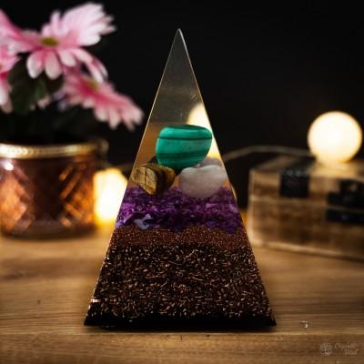 Mix -  Orgonite Pyramid