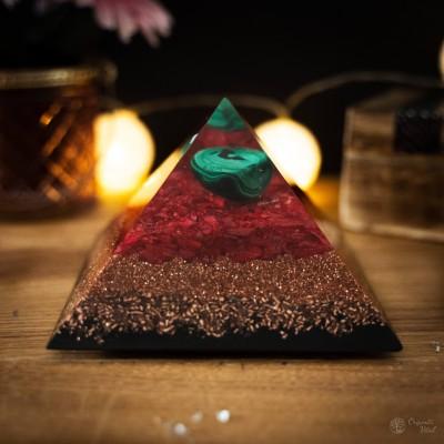 Malachite - Orgonite Pyramid