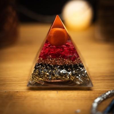 Red Jasper - Orgonite Pyramid