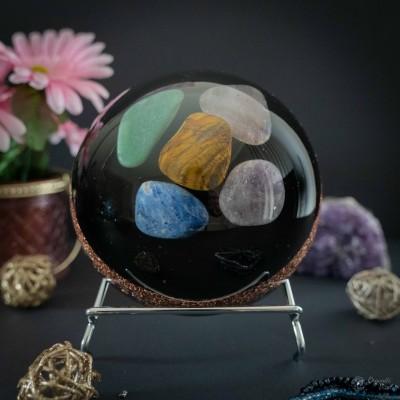 Amethyst & Rose quartz &...