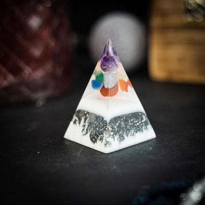 7 Chakras - orgonite pyramid