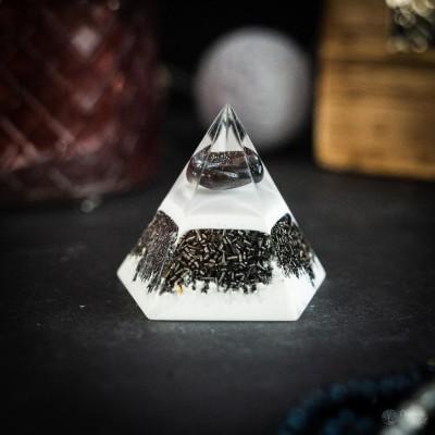 Hematite - Orgonite Pentagon
