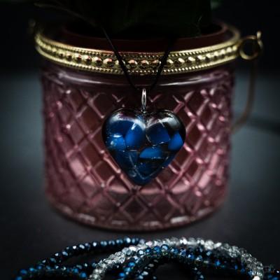 Opalite - orgonite heart...