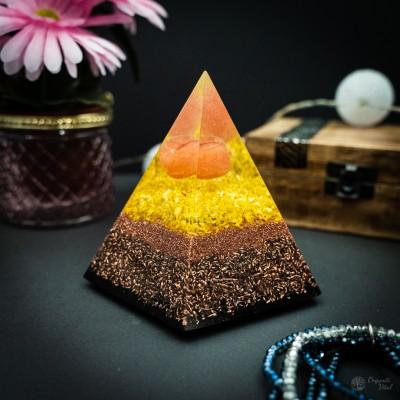 Carneol - Orgonite Pyramid