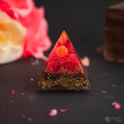 Karneol – Orgonitna Piramida