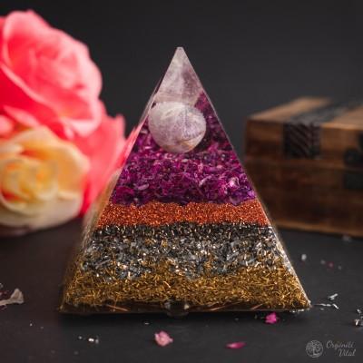 Amethyst - Orgonite Pyramid