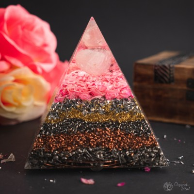 Rose Quartz -  Orgonite...