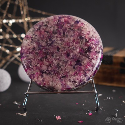 Amethyst & Rose Quartz -...