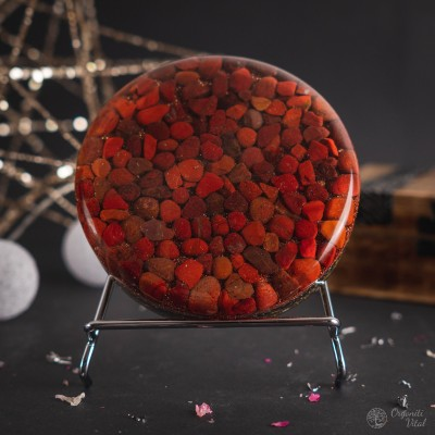 Red jasper - Orgonite...